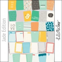Project Life Core Kit Cards 3x4 Jade Edition by Lili Niclass/Becky Higgins
