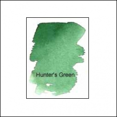 Nicholsons Peerless Transparent Watercolor Sheet Hunters Green