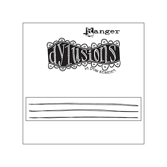 Ranger Dylusions Cling...