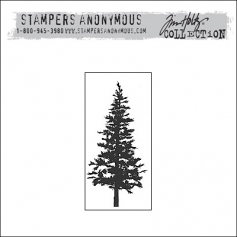 Stampers Anonymous Cling Stamp Mini Holidays 2 by Tim Holtz Collection