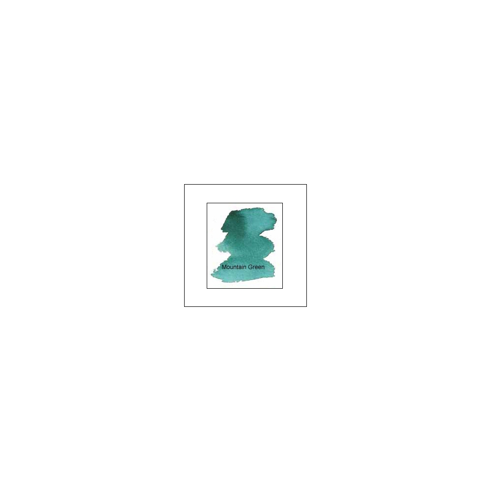 Nicholsons Peerless Transparent Watercolor Sheet Mountain Green