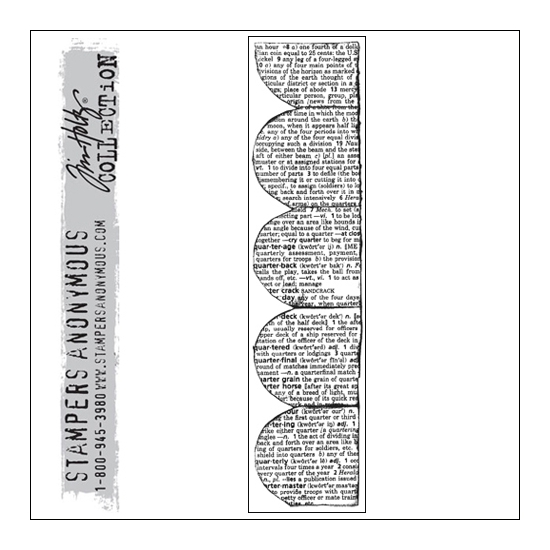 Stampers Anonymous Cling Stamp Classics by Tim Holtz Collection