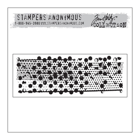 Stampers Anonymous Cling Stamp Mixed Media by Tim Holtz Collection