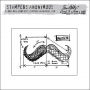 Stampers Anonymous Cling Stamp Mini Blueprint by Tim Holtz Collection
