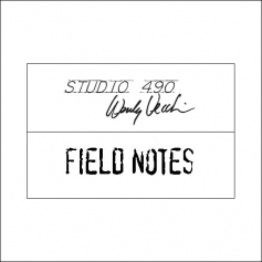 Stampers Anonymous Studio 490 Wood Mounted Red Rubber Stamp Field Notes by Wendi Vecchi