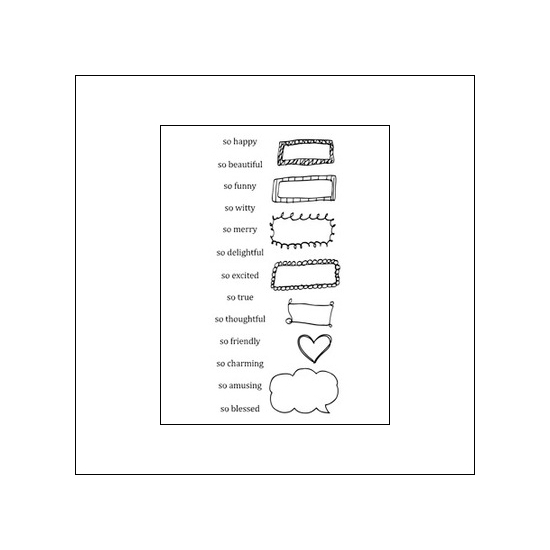 Ranger Clear Stamps Words...