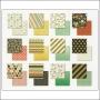 My Minds Eye Paper Pad 6x6 Nob Hill Market Street Collection by Jen Allyson