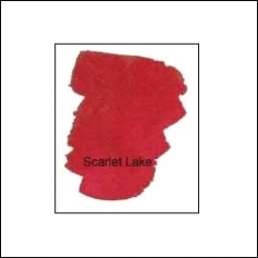 Nicholsons Peerless Transparent Watercolor Sheet Scarlet Lake