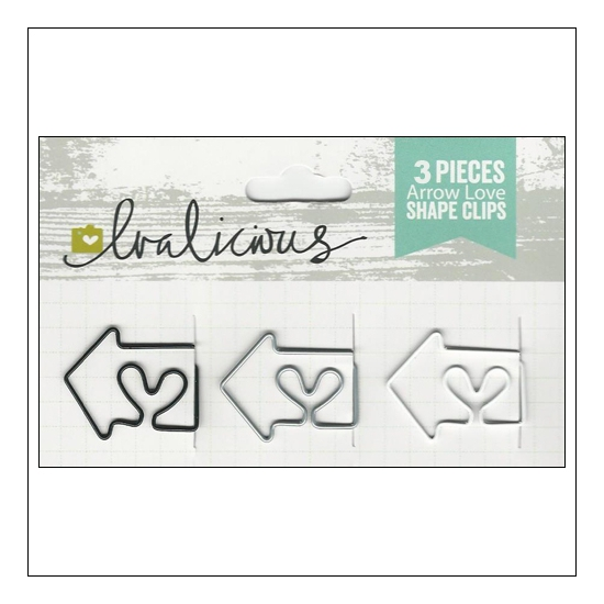 Evalicious Shape Clips Arrow Love