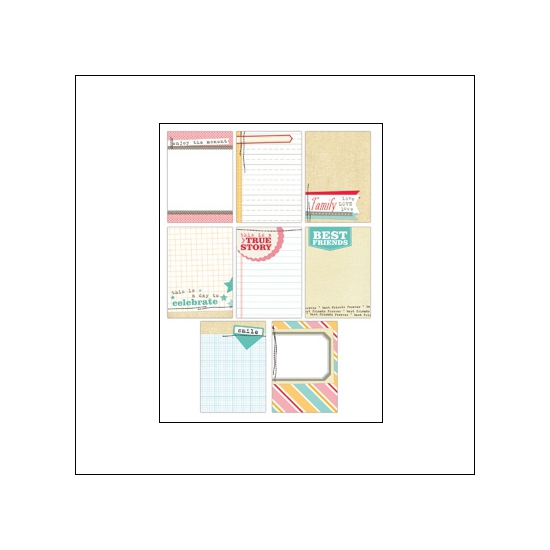 Elles Studio Note Tags The Sweet Life Collection