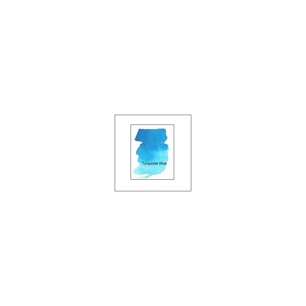Nicholsons Peerless Transparent Watercolor Sheet Turquoise Blue