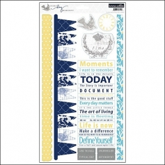 Teresa Collins Sticker Sheet Everyday Moments Collection