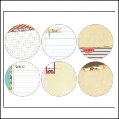 Elles Studio Noted Circle Tags