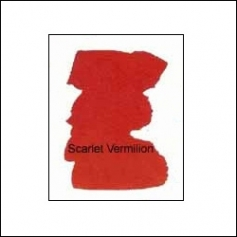 Nicholsons Peerless Transparent Watercolor Sheet Scarlet Vermillion