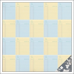 Studio Calico Paper Sheet Due Date South Of Market Collection