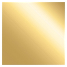 Chickaniddy Crafts Gold Foil Specialty Paper Goldie Lox