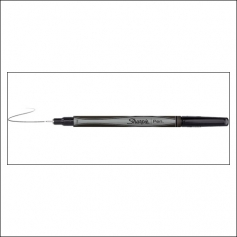Sanford Sharpie Pen Black Fine Tip