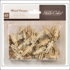 Studio Calico Wood Veneer People Take Note Collection