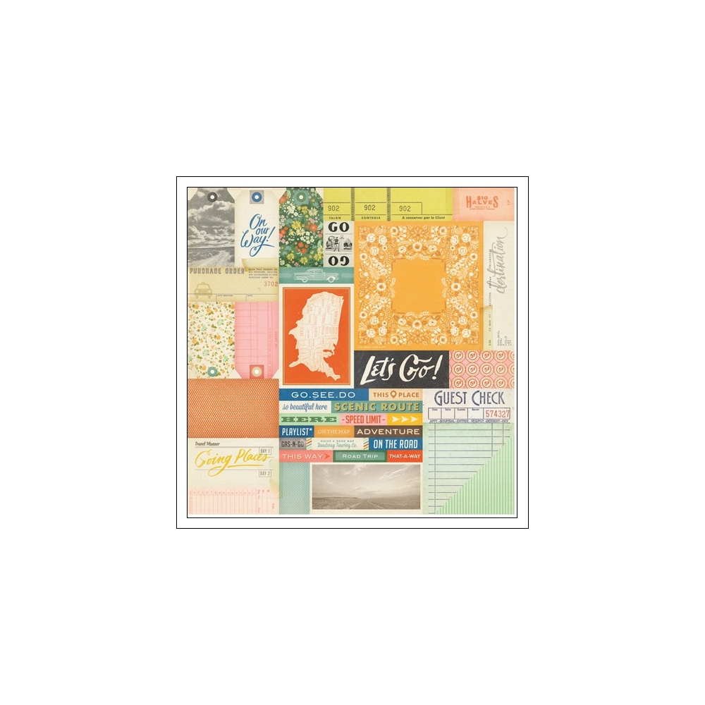Crate Paper Paper Sheet Road Map Open Road Collection