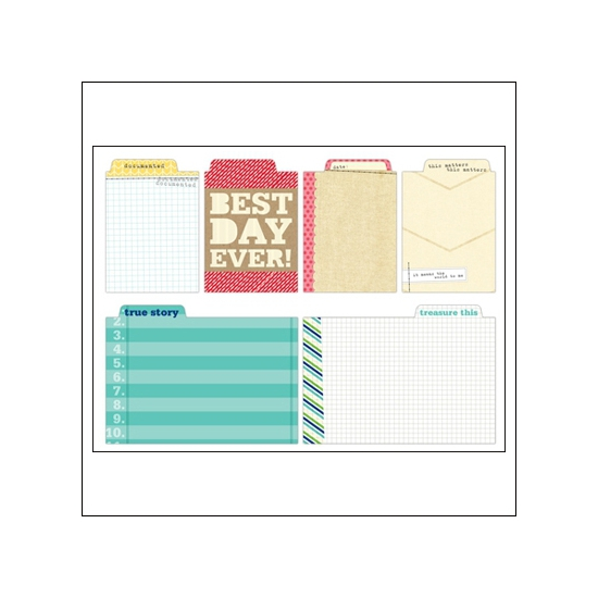 Elles Studio Tabs Day To Day Collection