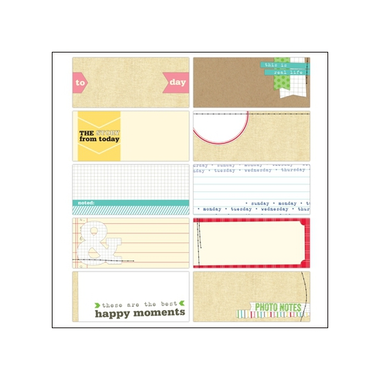 Elles Studio Tiny Tags Day To Day Collection