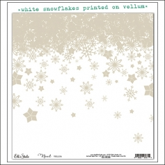 Elles Studio Vellum Sheet Noel Collection