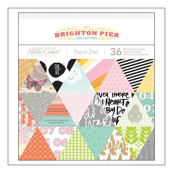 Studio Calico Paper Pad 6x6 Brighton Pier Collection