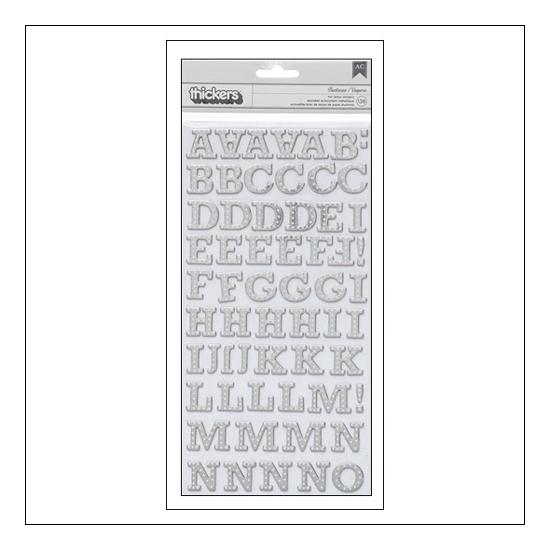 Studio Calico Thicker Stickers Chipboard Silver Foil Buckeroo Brighton Pier Collection