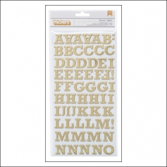 Studio Calico Thicker Stickers Chipboard Gold Foil Buckeroo Brighton Pier Collection