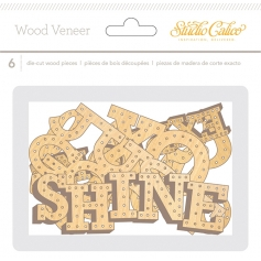 Studio Calico Wood Veneer Words Brighton Pier Collection