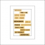 Studio Calico Wood Veneer Phrases Brighton Pier Collection