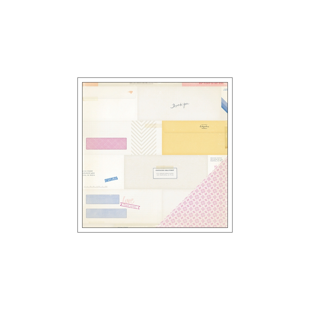Crate Paper Cardstock Paper Enclosed Notes and Things Collection
