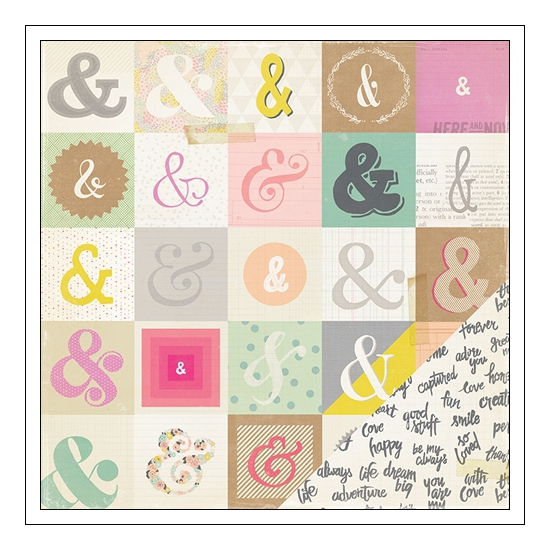 Crate Paper Cardstock Paper Signed Notes and Things Collection
