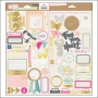Crate Paper Accent Stickers Notes and Things Collection