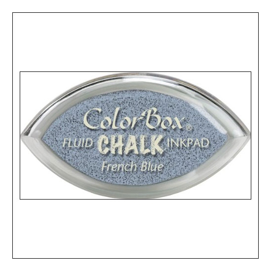 Clearsnap Colorbox Cats Eye Fluid Chalk Ink Pad French Blue