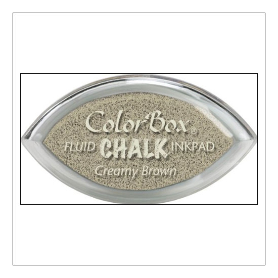 Clearsnap Colorbox Cats Eye Fluid Chalk Ink Pad Creamy Brown