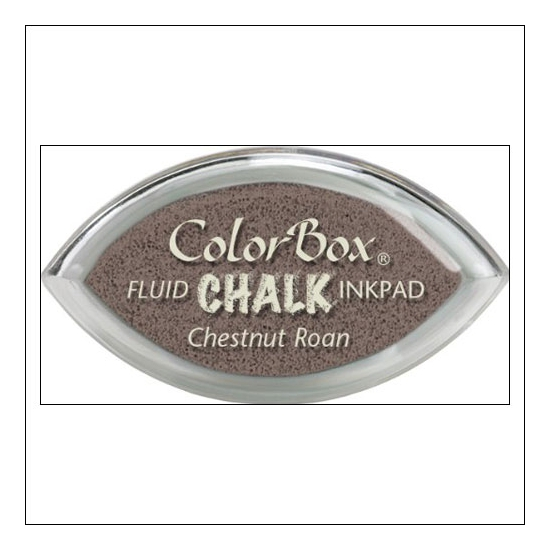 Clearsnap Colorbox Cats Eye Fluid Chalk Ink Pad Chestnut Roan