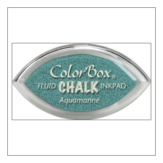 Clearsnap Colorbox Cats Eye Fluid Chalk Ink Pad Aquamarine