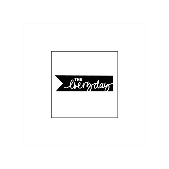 Evalicious Cling Stamp The Everyday