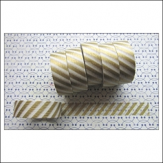 Freckled Fawn Washi Tape Airmail Gold