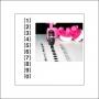 Glitz Design Pink Tiny Roller Doodle Numbers