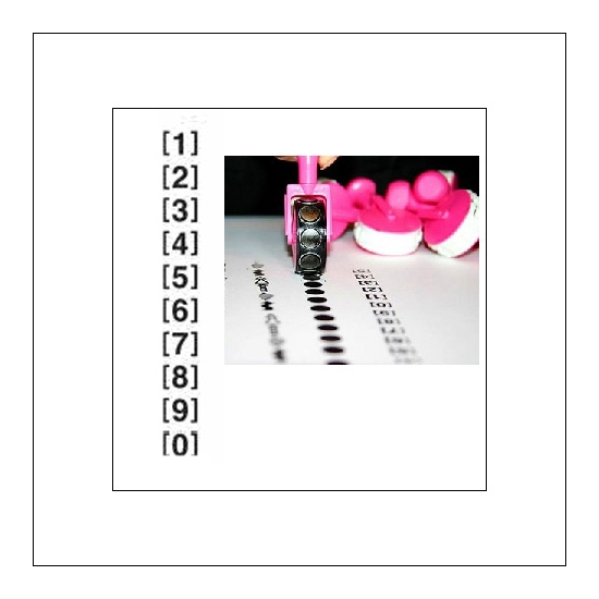 Glitz Design Pink Tiny Roller Doodle Numbers