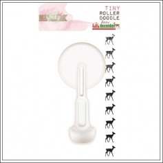 Glitz Design Tiny Roller Doodle Deer Hello December Collection