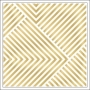 Crate Paper Vellum Paper Gold Foil Stripes Open Book Collection by Maggie Holmes