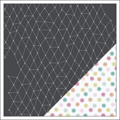 Gossamer Blue Paper Sheet Frost and Flurries Get Happy Collection by Allison Pennington