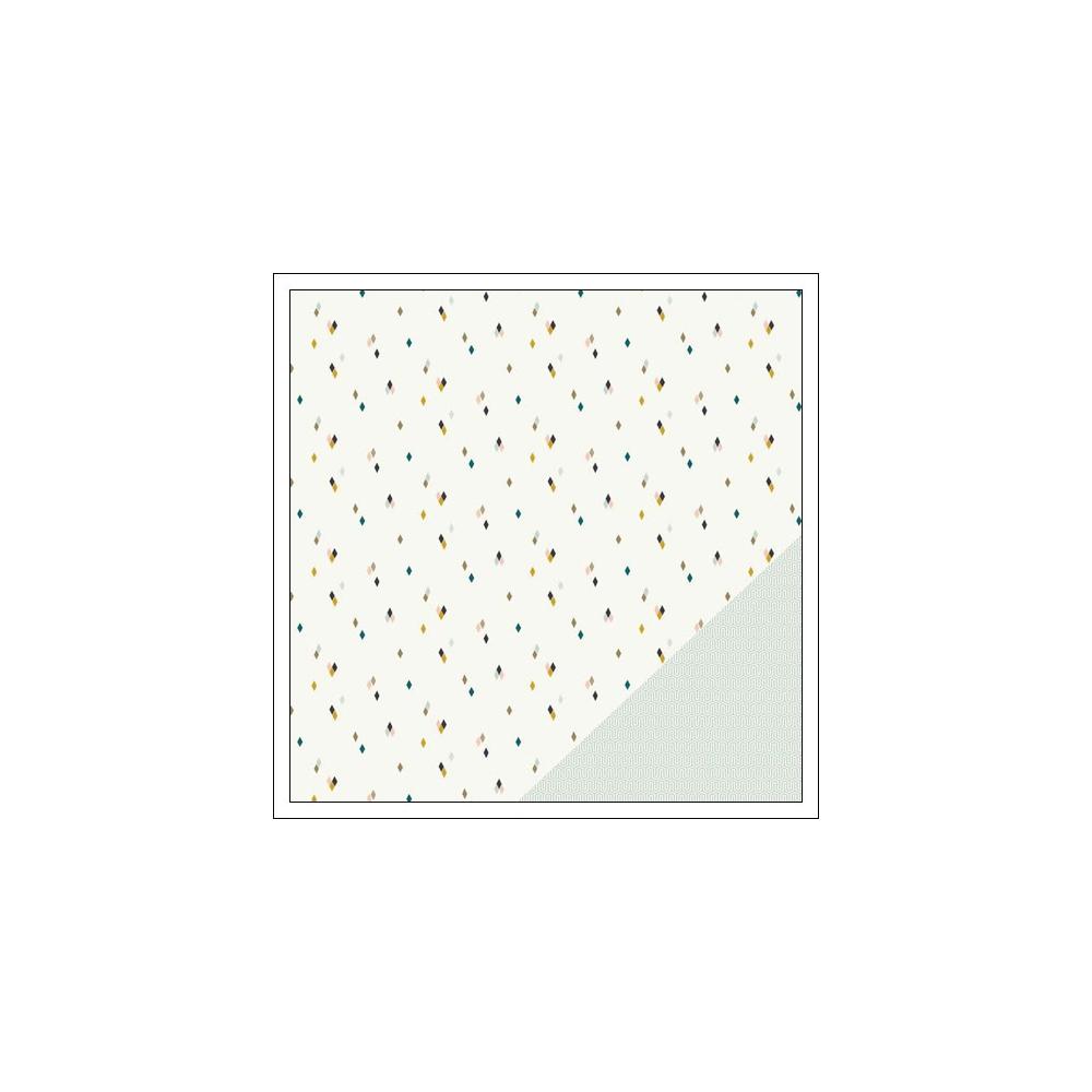 Gossamer Blue Paper Sheet The Third Ward Gramercy Road Collection by One Little Bird