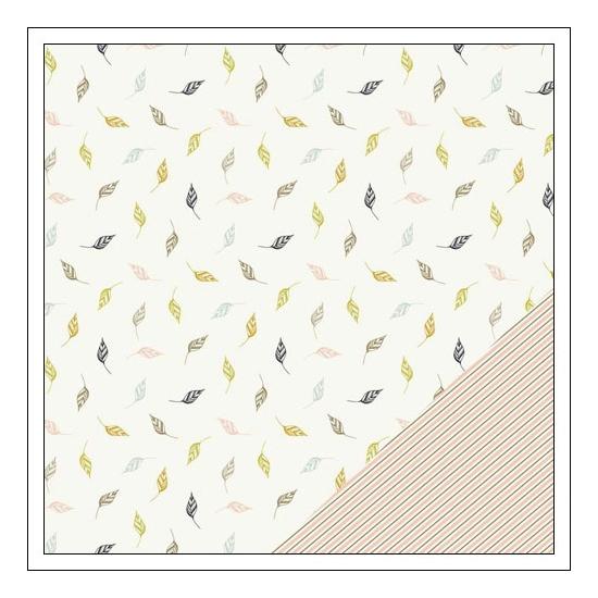 Gossamer Blue Paper Sheet Cedar Creek Gramercy Road Collection by One Little Bird