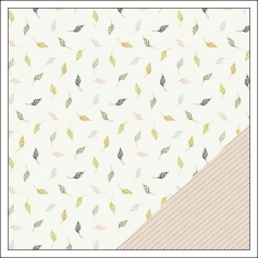 Gossamer Blue Paper Sheet Cedar Creek Gramercy Road Collection by One Little Bird