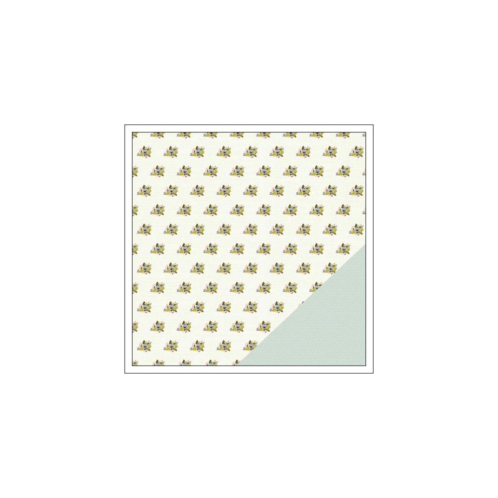 Gossamer Blue Paper Sheet Sheridan Place Gramercy Road Collection by One Little Bird