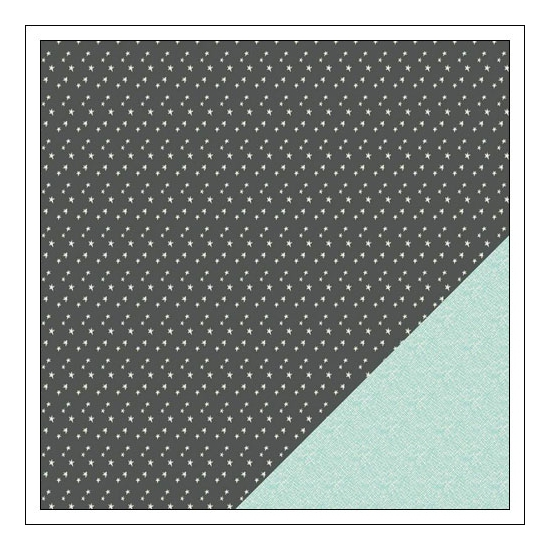 Gossamer Blue Paper Sheet Stargazer On My Desk Collection by Paislee Press